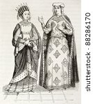 Blanche Of Castile And Margare...