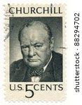 Usa   Circa 1965  A Stamp...