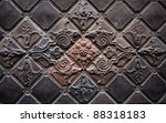 abstract architecture details | Shutterstock . vector #88318183