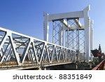 Railway Bridge Across The River ...