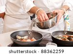 chef at work | Shutterstock . vector #88362259
