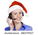 Christmas Operator Woman ...