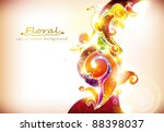 abstract colorful banner | Shutterstock .eps vector #88398037