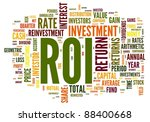 Roi   Return Of Investment...
