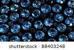 set of round diamond isolated... | Shutterstock . vector #88403248