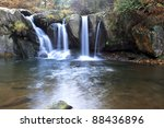 autumn waterfall at the black... | Shutterstock . vector #88436896