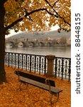 Charles Bridge In Autumn ...