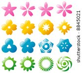 flower icon | Shutterstock .eps vector #8845021
