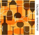 Art Seamless Background  Wine...