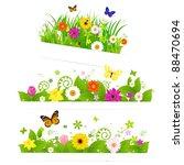3 Spring Flower Bouquet ...