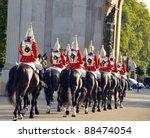 Famous London Horse Guards