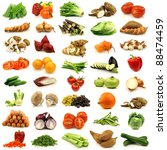 collection of fresh and... | Shutterstock . vector #88474459