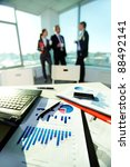 image of business documents on... | Shutterstock . vector #88492141