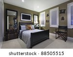 stylish bedroom with elegant... | Shutterstock . vector #88505515