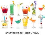 wide assortment of freakish... | Shutterstock . vector #88507027