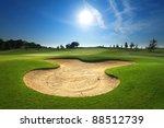 golf course   Shutterstock . vector #88512739