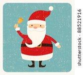santa claus card | Shutterstock .eps vector #88521916