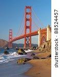 the golden gate bridge in san... | Shutterstock . vector #88524457