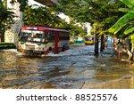 bangkok   november 10   buses... | Shutterstock . vector #88525576