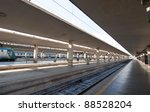 panoramic of the railroad... | Shutterstock . vector #88528204