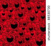 abstract love seamless pattern | Shutterstock .eps vector #88530730