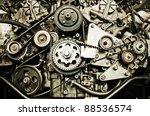 sport car's engine | Shutterstock . vector #88536574