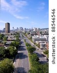 City Of Montreal  View From...