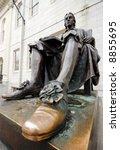 The Lucky Shoe Of John Harvard...