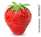 Strawberries Berry Isolated On...