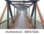steel bridge for people | Shutterstock . vector #88567606