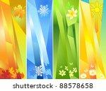 Four Seasons  Vector...