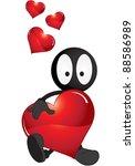 cartoon illustration of... | Shutterstock . vector #88586989