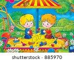 children 192 | Shutterstock . vector #885970