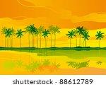 horizontal vector   landscape... | Shutterstock .eps vector #88612789
