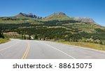 The Million Dollar Highway (US-550) at Molas Pass near SIlverton, Colorado. - stock photo
