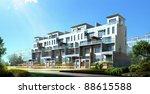 3d rendering of the building | Shutterstock . vector #88615588