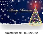 background for new year and for ... | Shutterstock .eps vector #88620022