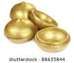 old brass pots for multipurpose ... | Shutterstock . vector #88635844