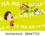 the jester | Shutterstock .eps vector #88667722