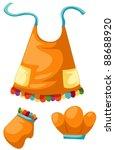 illustration of isolated set of ... | Shutterstock .eps vector #88688920