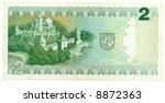 lithuanian banknote at 2 litas  ... | Shutterstock . vector #8872363