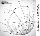 abstract background vector | Shutterstock .eps vector #88723636