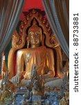 beautiful image of buddha at... | Shutterstock . vector #88733881