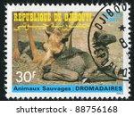 djibouti circa 1987  stamp... | Shutterstock . vector #88756168