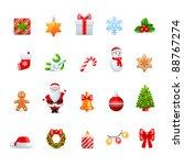 vector christmas design | Shutterstock .eps vector #88767274