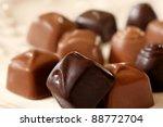 Assortment Of Tiny Chocolate...