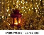 christmas lantern   Shutterstock . vector #88781488