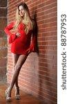 active  beautiful girl in the... | Shutterstock . vector #88787953
