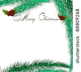 vector christmas background | Shutterstock .eps vector #88809268