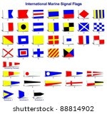a complete set of international ... | Shutterstock . vector #88814902